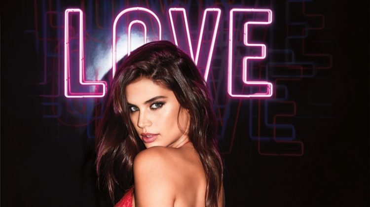 Victoria's Secret Models Heat Up Valentine's Day Campaign
