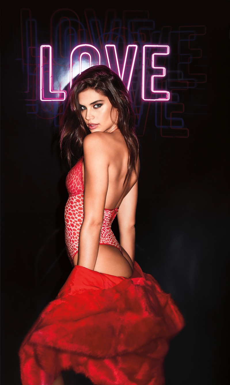 46a6e495431 Sara Sampaio stars in Victoria s Secret Valentine s Day 2019 campaign