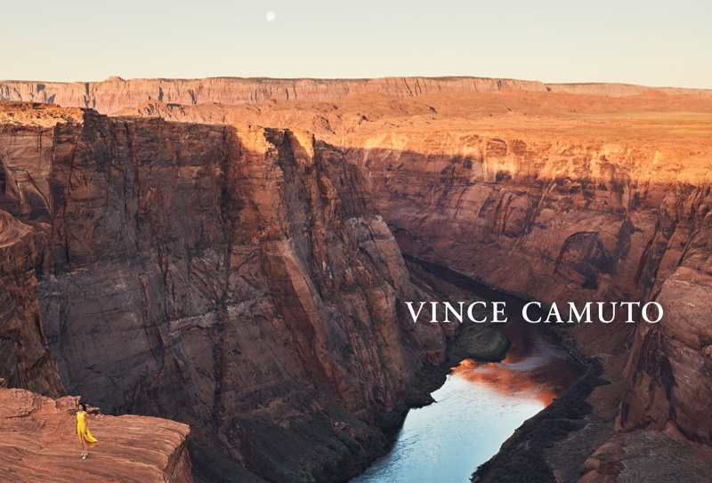 Vince Camuto sets its spring-summer 2019 campaign at Lake Powell