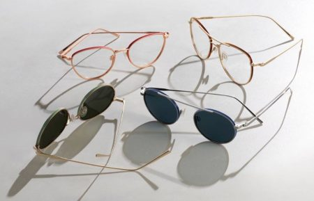 Warby Parker Inlay Edition glasses.