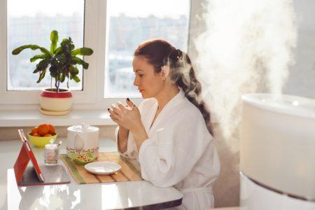 Woman Table Humidifier