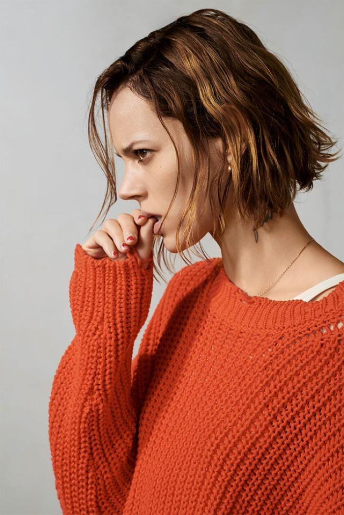 Zara Long Knit Tunic