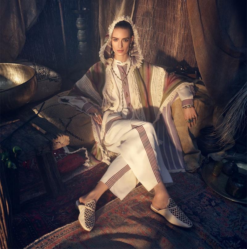 Veronika Kunz fronts Zara spring-summer 2019 campaign