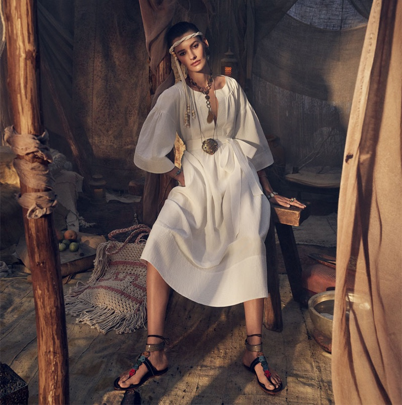 Zara features Moroccan inspired styles for spring 2019 campaign