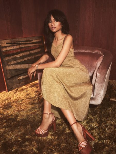 Zendaya Delivers 70's Vibes for Tommy Hilfiger Collaboration