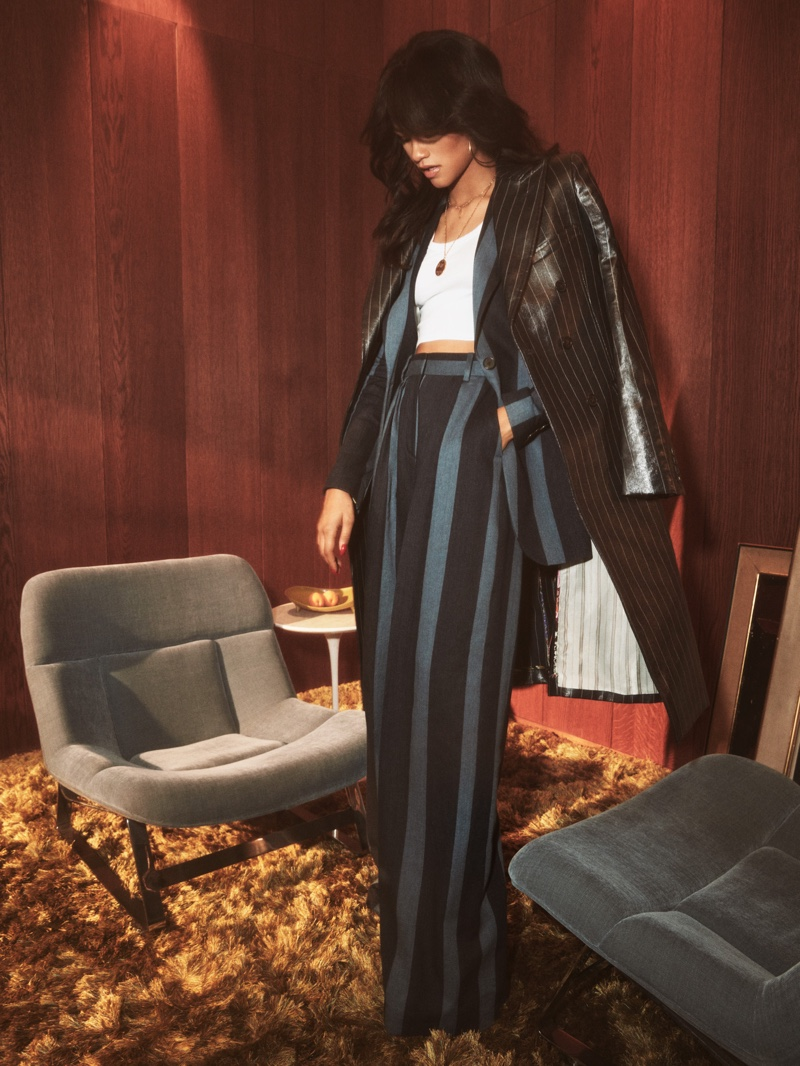 A look from the Tommy x Zendaya spring 2019 collection