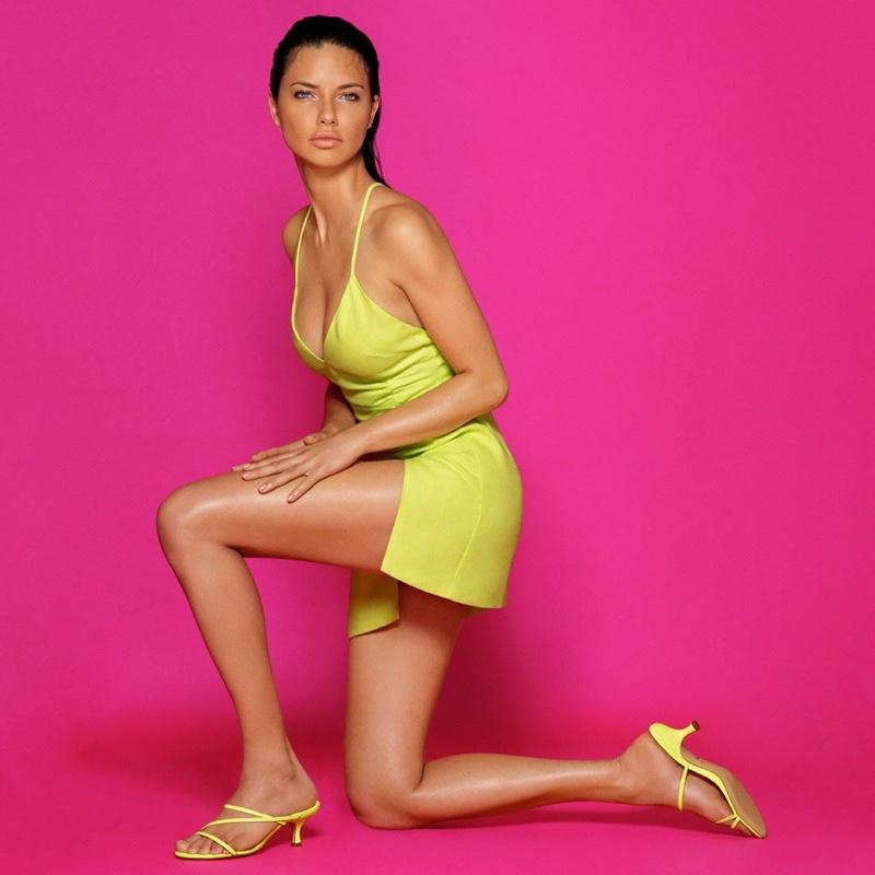 Schutz taps supermodel Adriana Lima for resort 2019 campaign