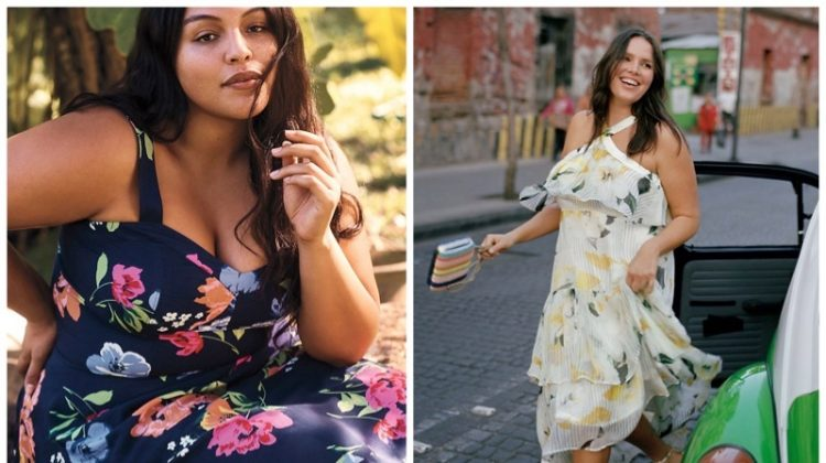 Anthropologie plus sizes and curvy dresses