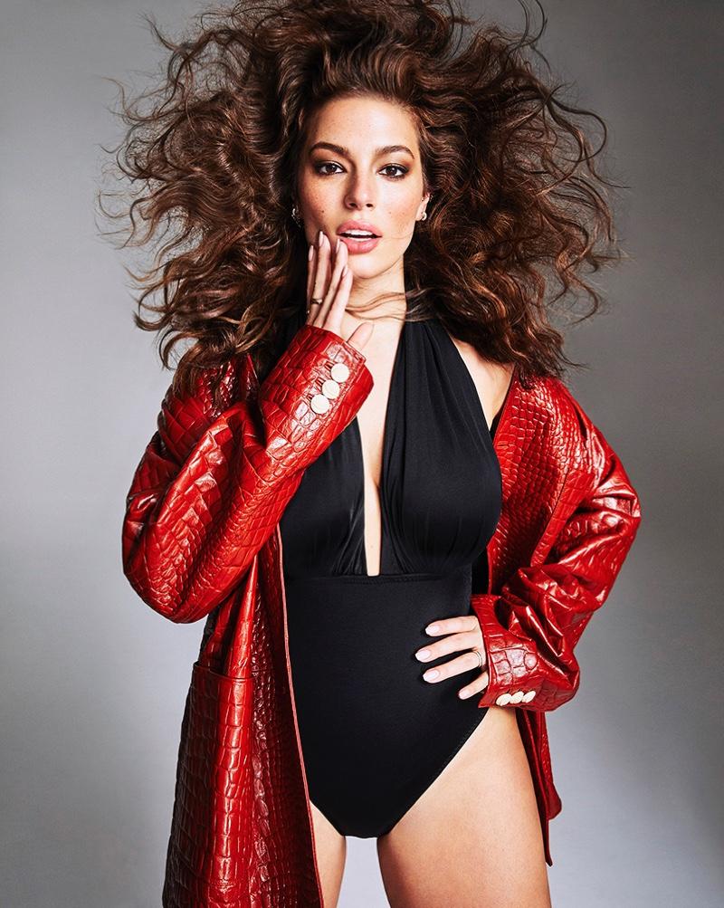 Ashley Graham Turns Up the Glam Factor for Harper's Bazaar Australia