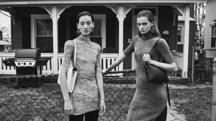 Lina Zhang and Jessica Wilkinson star in Balenciaga summer 2019 campaign