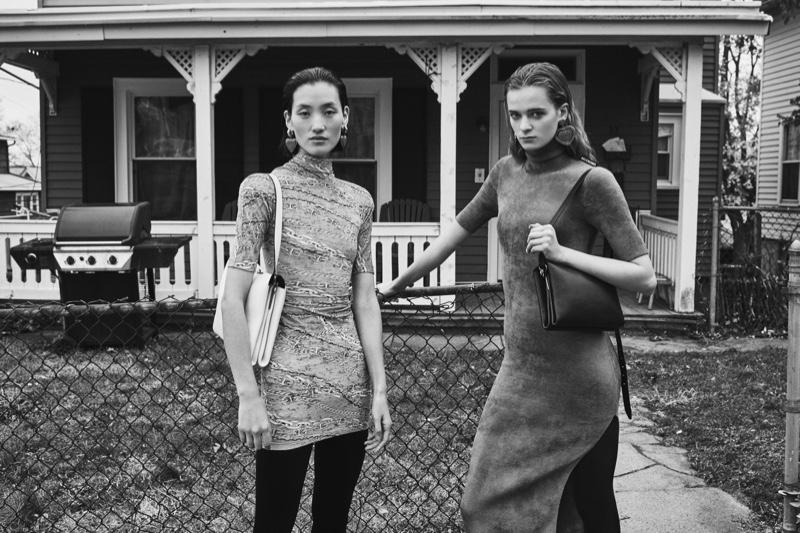 Lina Zhang and Jessica Wilkinson star in Balenciaga summer 2019 campaign