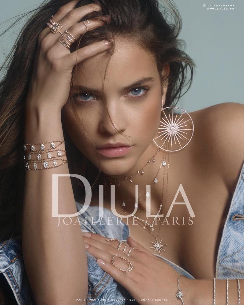 Barbara Palvin stars in Djula jewelry 2019 campaign