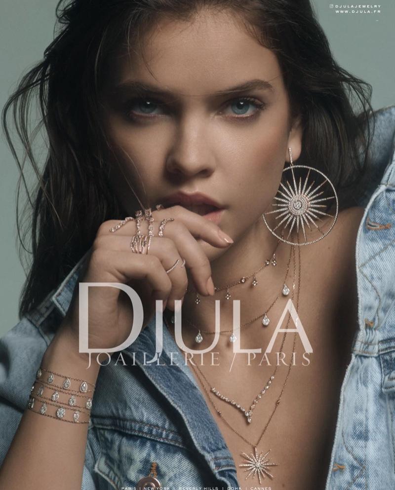Model Barbara Palvin fronts Djula jewelry 2019 campaign