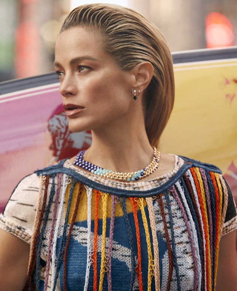 Carolyn Murphy Takes On Surf Fashion for Harper's Bazaar