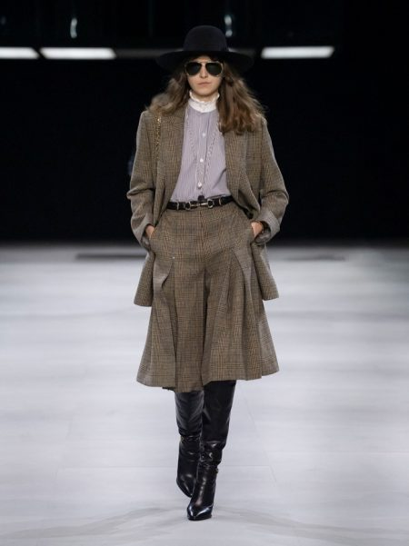 Celine Delivers Parisian Chic for Fall 2019