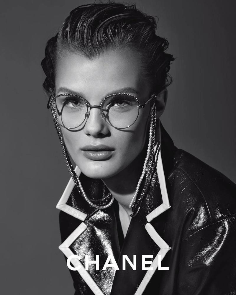 Chanel Eyewear enlists Kris Grikaite for spring-summer 2019 campaign