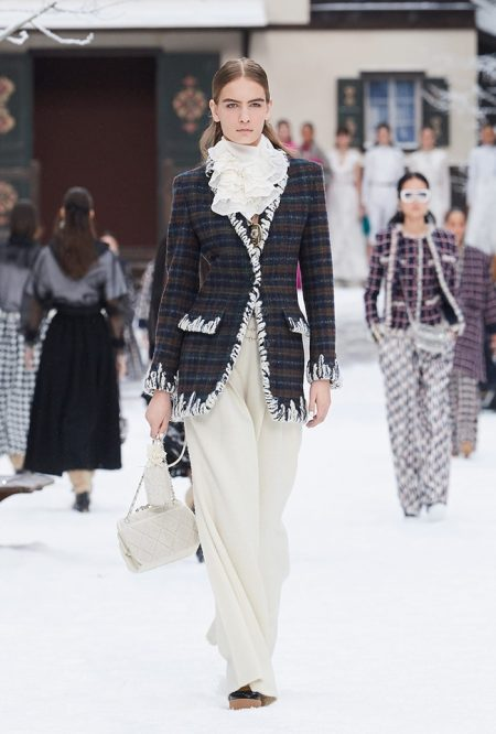 Chanel Pays Tribute to Lagerfeld for Fall 2019