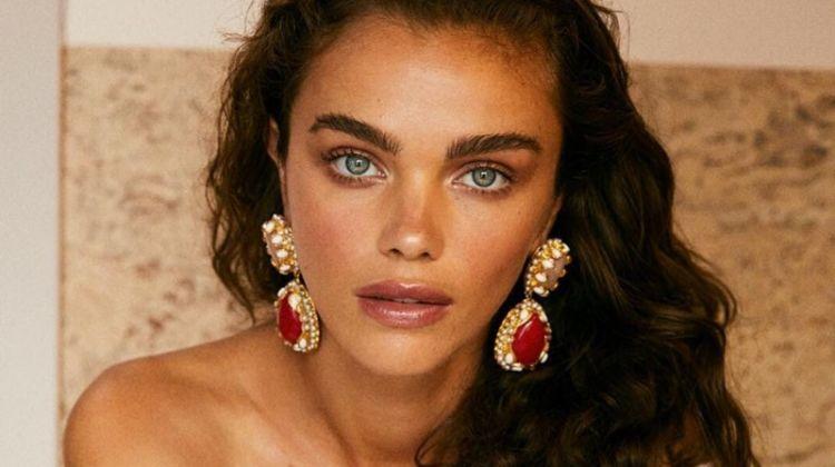Jena Goldsack stars in Christie Nicolaides Villa Vera campaign