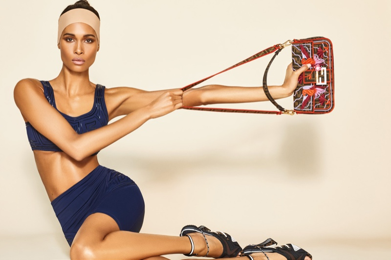 Cindy Bruna Sports Fendi Looks for Wonderland Magazine