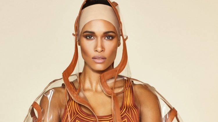 Cindy Bruna Sports Fendi Looks for Wonderland Magazine