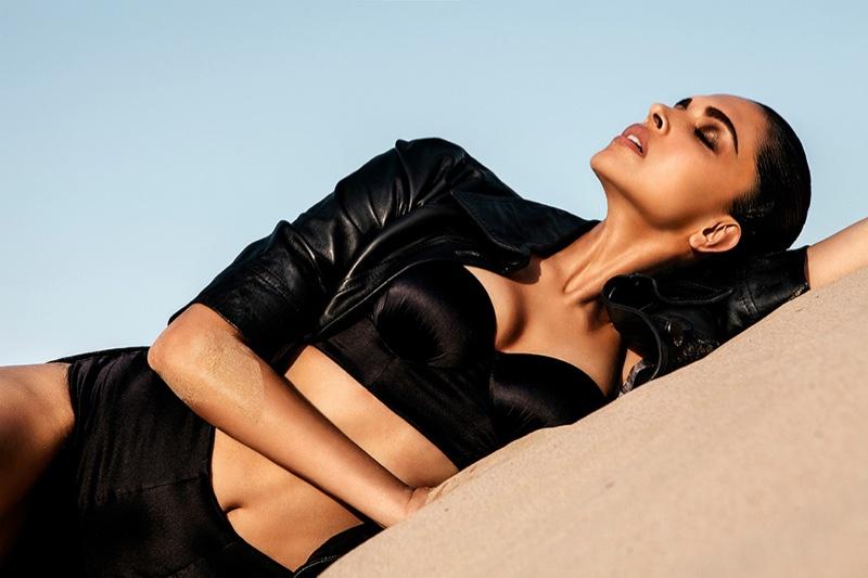 Deepika Padukone wears an all black look