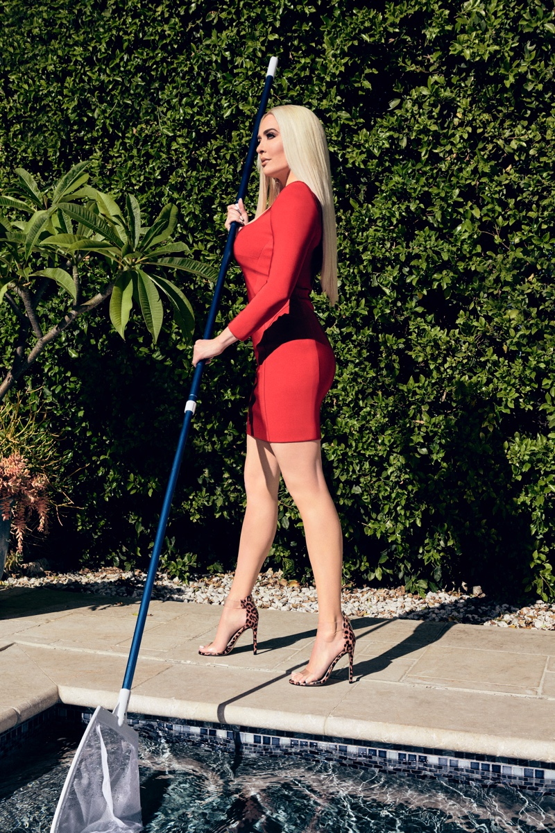 Real Housewives of Beverly Hills star Erika Girardi poses in Shoedazzle collaboration