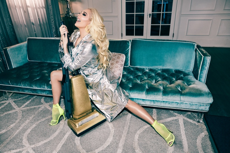 Singer Erika Jayne stars in Shoedazzle collaboration campaign