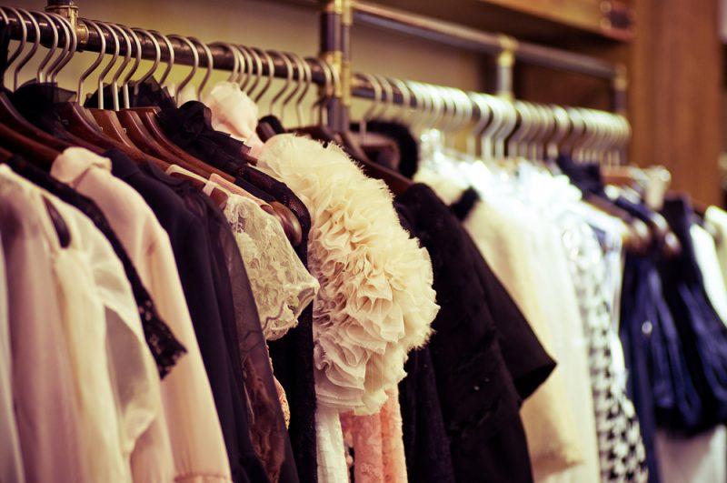 Fashions on Hangers