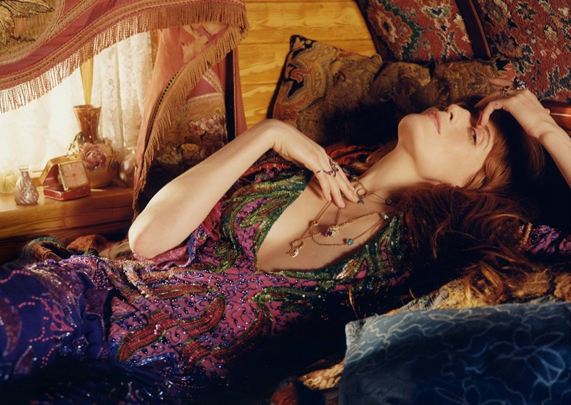 Singer Florence Welch fronts Gucci jewelry campaign