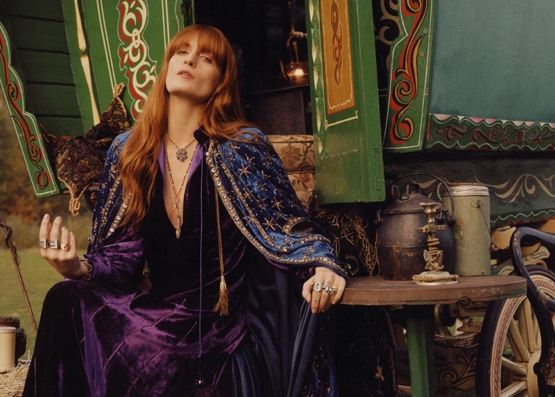 Gucci taps Florence Welch for latest jewelry advertisements