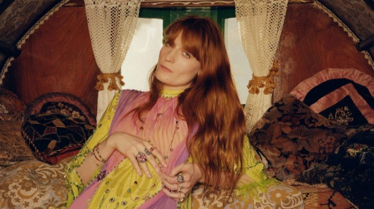 Florence Welch stars in Gucci jewelry campaign