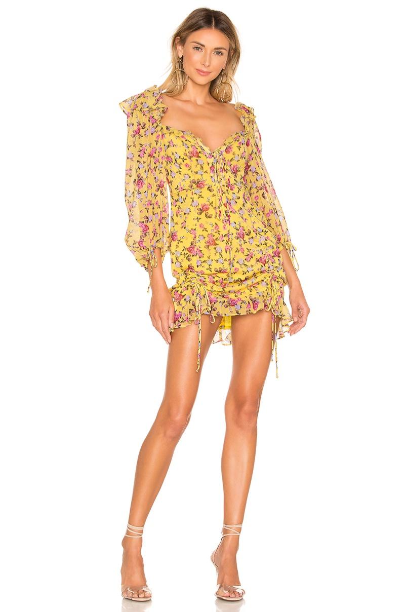 For Love & Lemons Beaumont Mini Dress $262