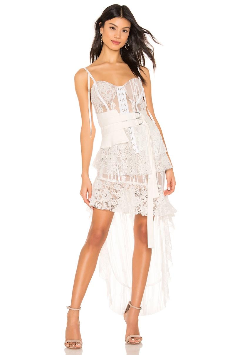 For Love & Lemons Claudette Maxi Dress $317