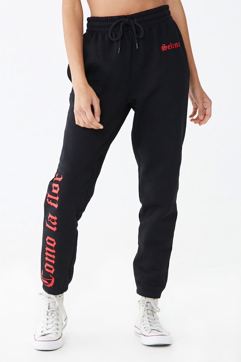 Forever 21 x Selena Graphic Joggers $29.90