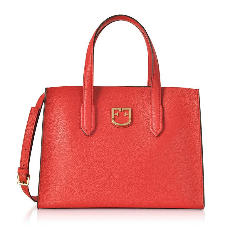 Furla Red Lodovica Tote Bag $256.50 (previously $513)