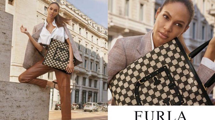 Joan Smalls stars in Furla spring-summer 2019 campaign