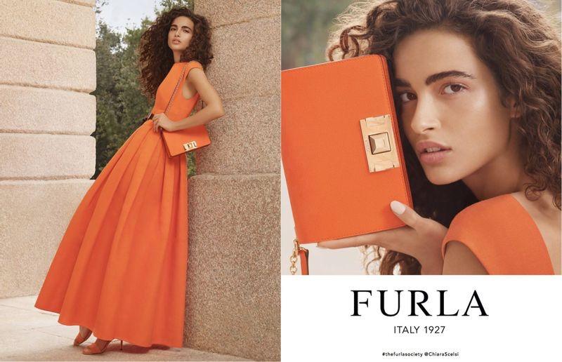 Chiara Scelsi appears in Furla spring-summer 2019 campaign