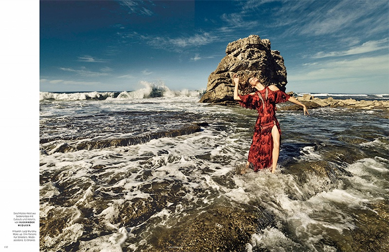 Gisele Bundchen is A Siren of the Sea for Vogue Germany