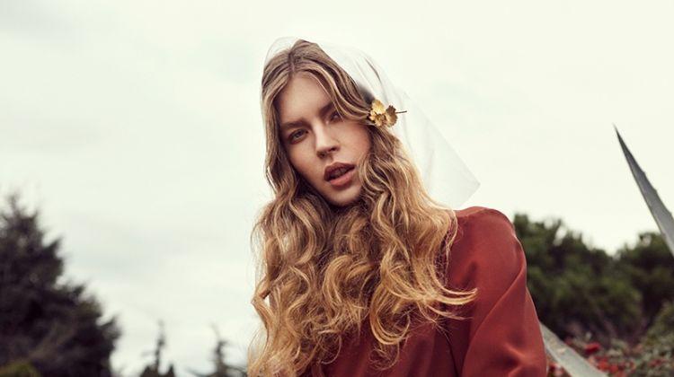 Gosia Kluz Looks Effortlessly Chic for L'Officiel Baltics