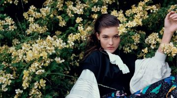 Grace Elizabeth is in Full Bloom for Vogue Russia
