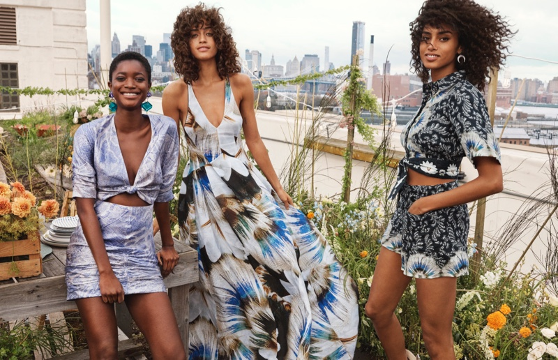 Oumie Jammeh, Alanna Arrington and Imaan Hammam star in H&M Conscious Exclusive 2019 campaign