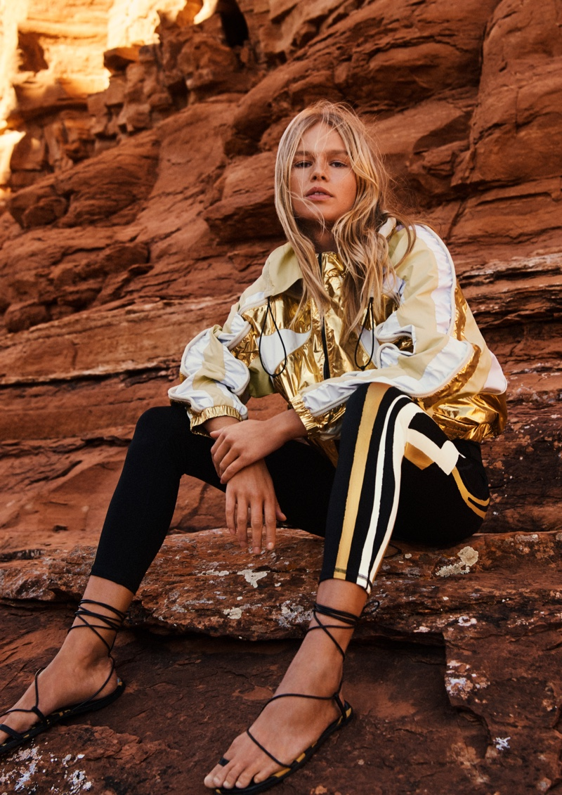 H&M Studio spring-summer 2019 collection takes inspiration from a glam explorer