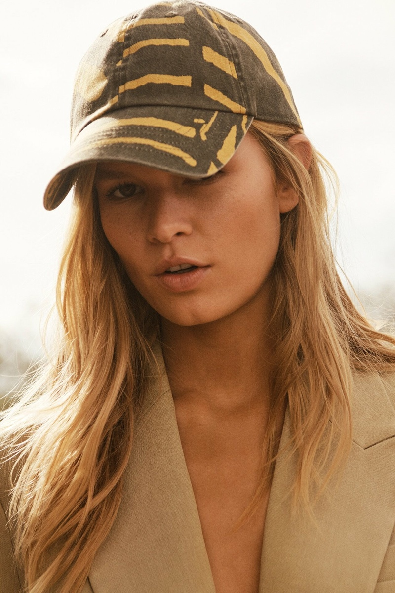 Printed baseball cap from H&M Studio spring-summer 2019 collection