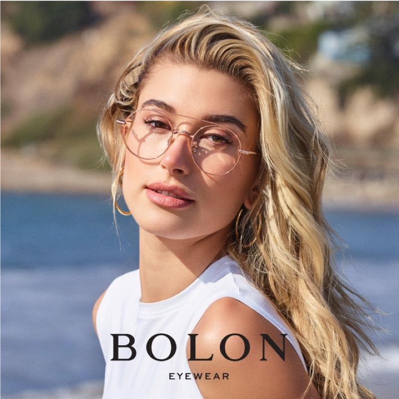 Hailey Baldwin stars in Bolon Eyewear 2019 campaign