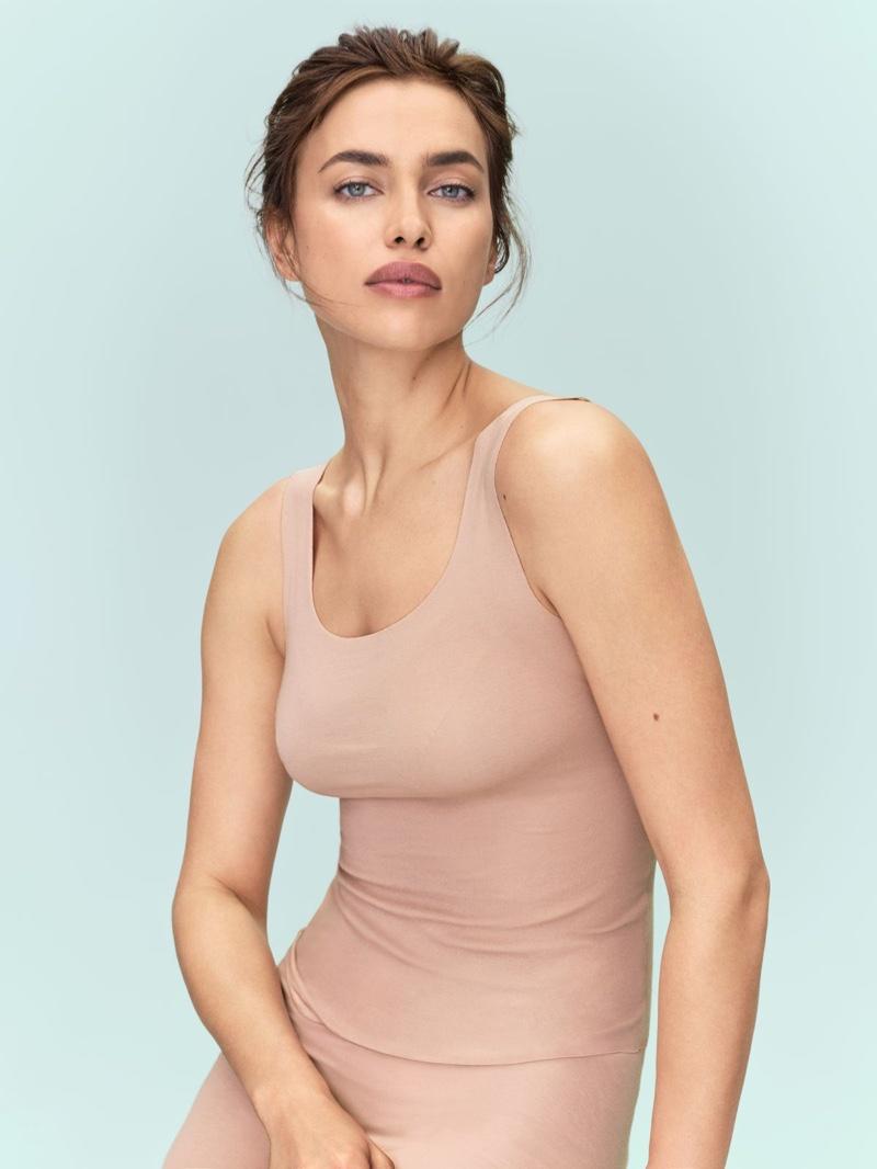 Intimissimi taps Irina Shayk for Silk Collection campaign