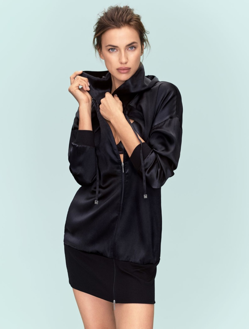 Intimissimi features silk sweatshirt in latest collection