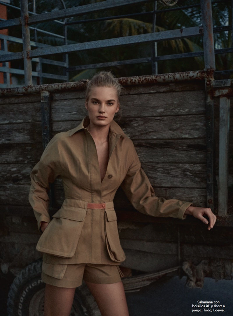 Isabel Scholten Embraces the Neutral Trend for TELVA