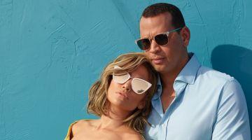 Jennifer Lopez joins fiance Alex Rodriguez for Quay Australia collaboration