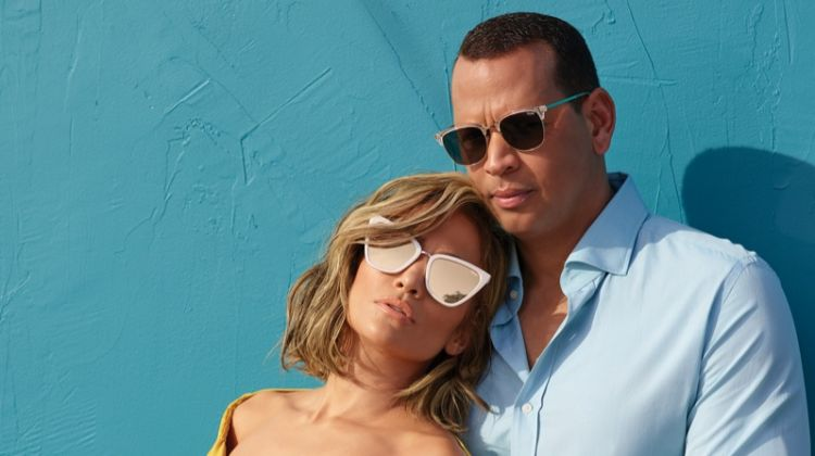 Jennifer Lopez joins fiance Alex Rodriguez for Quay Australia collaboration