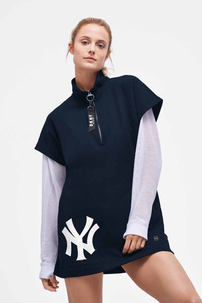 DKNY Sport features New York Yankees design from Major League Baseball collaboration